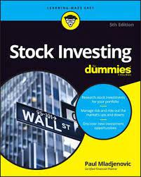 Stock Investing for Dummies, 5th Edition by Paul Mladjenovic (English)  Paperback 9781119239284