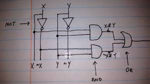 component exclusive or circuit xor gate build and demo patent 1998 Buick Park Avenue Interior Parts Diagram at Computer And Gate Wiring Diagram