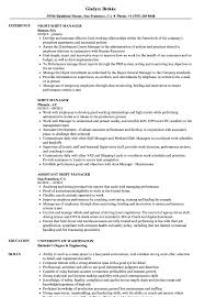 Shift Manager Resume Shift Manager Resume Samples Velvet Jobs 6