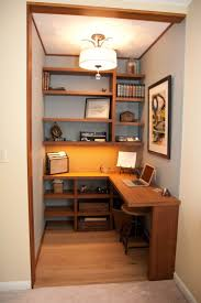 building a home office. office in a walk closet building home