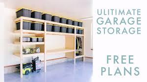Garage Workbench Design Ideas Diy Garage Storage Shelf Workbench Solution