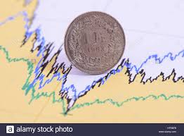 Swiss Franc Currency Chart Swiss Franc Exchange Rate Stock Photos Swiss Franc