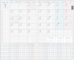 2020 Jibun Techo Lite Mini Calendar Gantt Chart Bujo