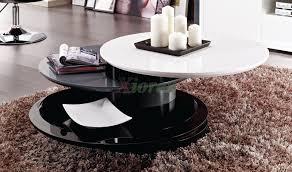 modern round coffee table with storage gemini toronto xiorex gemini round modern coffee table toronto x