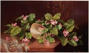 Magnolias On Light Blue Velvet Cloth Nature Morte Martin Johnson Heade Crotos