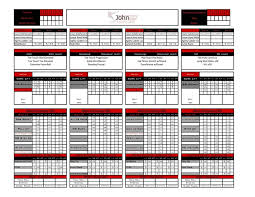 free strength and conditioning excel template excel designs automated templates fitlete nation ideas
