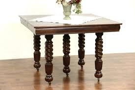 medium oak dining chairs furniture inch round oak pedestal table vintage oak dining inch round oak pedestal table vintage oak dining room set antique square