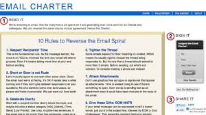 The Email Charter An Idea Worth Spreading Virtual Teams