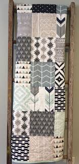 baby quilts tribal baby quilt baby boy