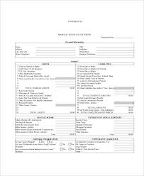 annual financial statement template free 33 financial statement examples samples in pdf