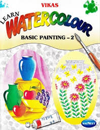 book add to cart learn water colour basic painting 2