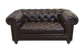 Cambridge Genuine Top Grain Tufted Leather Chesterfield Sofa