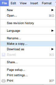 Copy Page Making A Copy Of A Google Docs Template Niefolio Help Site
