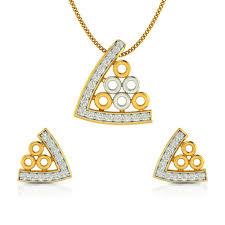 celebrity town diamond gold pendant cjsps0116 y