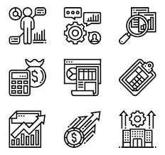 Line Chart Stat Icons 3 164 Free Vector Icons