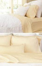 sleep chic in the happiest patterned sheet sets
