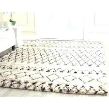 white wool rug hand tufted dark brown new 6 ikea shedding essence multi weave natural felted