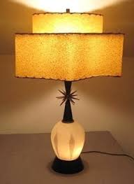 mid century lamp. Mid Century Lamp With Lit Base And Interesting Shaped Two Tiered Shade. I Love The