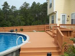 Painted Fences fence & deck staining 3036 by xevi.us