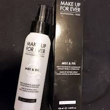 photo photo makeup forever mist fix setting spray