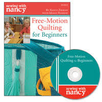 Sewing With Nancy DVDs - Quilting - Embroidery & FREE MOTION QUILTING FOR BEGINNERS DVD Adamdwight.com
