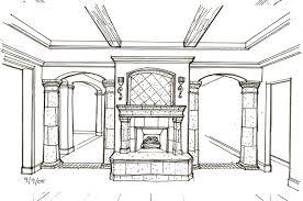 Interior Design Drawing Interior Design Ideas