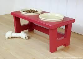 dog feeder diy diy feeding bowl