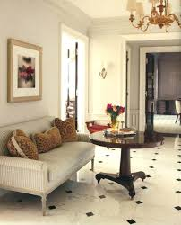 thomas o brien bryant chandelier black and white floors chandelier sconce settee pillows fifth avenue apartment chandelier modern crystal 3 lights