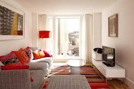 Simple Living Room Living Room Splendid Living Room With White Futon Furnishings