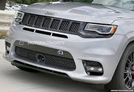 2018 jeep grand cherokee srt8. fine grand 2018 jeep grand cherokee trackhawk spy shots  image via s baldaufsb throughout jeep grand cherokee srt8