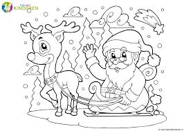 20 Nieuwe Kleurplaat Kerst Hert Win Charles