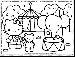 Small Picture surprising hello kitty coloring pages with hellokidscom coloring