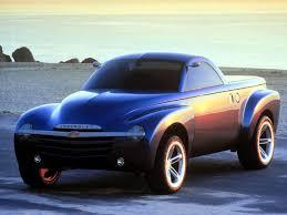 Chevrolet SSR Concept (2000) – Old Concept Cars