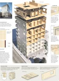 Residential Timber Design Building With Engineered Timber The Graphite Apartments A