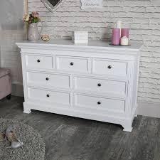 white chest of drawers. White Chest Of Drawers - Large 7 Drawer Daventry E