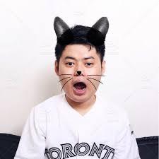 Asian boy cat ears pic