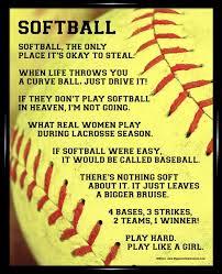 Softball Quotes Softball Sayings For Posters Softball Framed Extraordinary Pinterest Softball Quotes