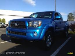 2011 Toyota Tacoma V6 TRD Sport Access Cab 4x4 in Speedway Blue ...
