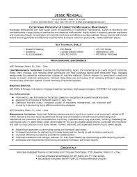 field service maintenance engineer resume education maintenance engineer cover letter