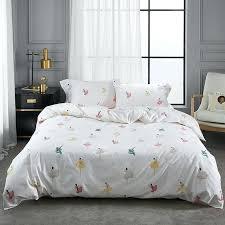 girls duvet new cotton king queen size bedding set fl leaves girls duvet cover girl duvet girls duvet