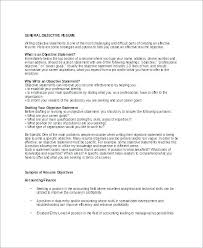 Customer Service Call Center Resume Objective Cool Objectives For A Resume Good Resume Objectives Examples For
