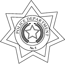 Small Picture Police Badge Template Free Download Clip Art Free Clip Art