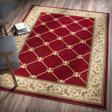 appealing red area rugs contemporary