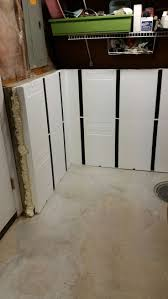 InSoFast panels can be used in conjunction with Perimeter Drainage Systems.  Learn more: http  Basement RemodelingRemodeling IdeasBasementsBasement ...