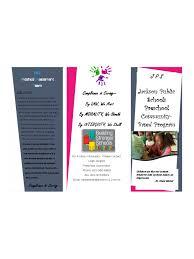 Preschool Brochure Template 6 Free Templates In Pdf Word Excel ...