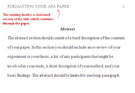 Apa Formation What Is The Proper Apa Formatting For Headings And