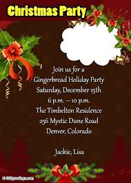 Sample Of Christmas Party Invitation Dinner Invitation Template Free Extraordinary Funny Party