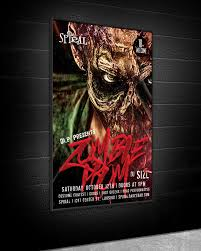 Costume Contest Flyer Template 33 Best Zombie Flyer Templates 2019 Templatefor