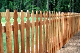Wood Fence Panels Vs Pickets Dahlias Home Installation of Wood