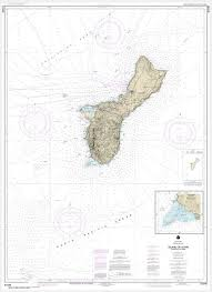 Noaa Chart Mariana Islands Island Of Guam Territory Of Guam Cocos Lagoon 81048